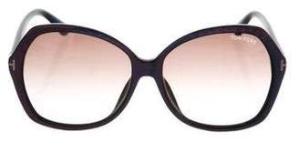 Tom Ford Carola Oversize Sunglasses