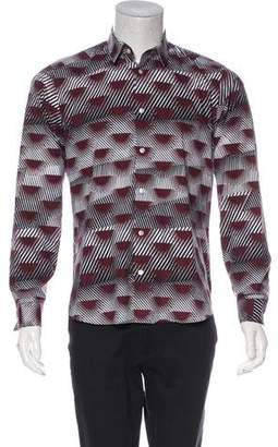 Kenzo Abstract Print Shirt