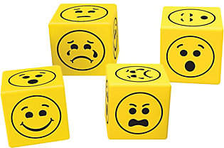 Learning Resources Soft Emoji Dice