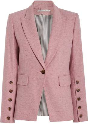 Veronica Beard Steele Heathered Dickey Blazer