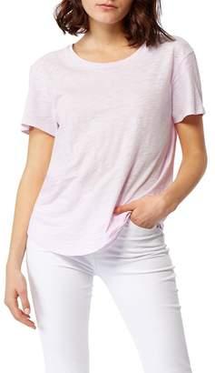 Habitual Twisted Hem Split Back T-Shirt