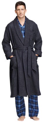 Brooks Brothers Cashmere and Wool Robe