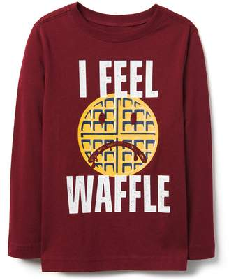 Crazy 8 Crazy8 I Feel Waffle Tee