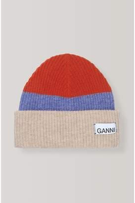 Ganni Knit Hat - Multicolor