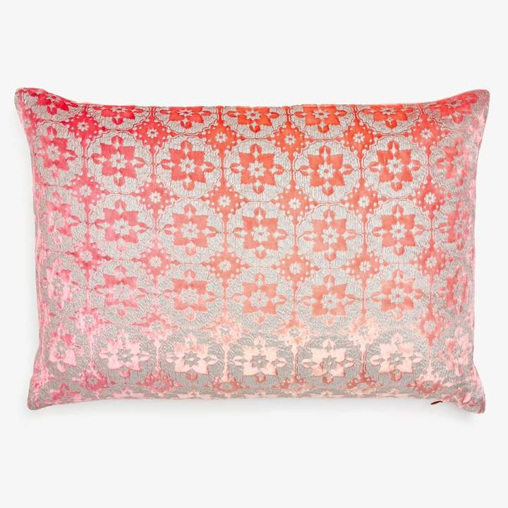 Kevin OBrien Kevin O'brien Kevin O'brien Small Metallic Moroccan Velvet Pillow Fruit Punch