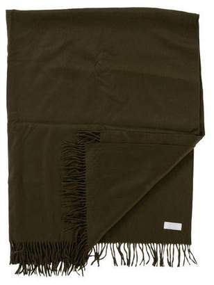 Frette Fringed Cashmere Throw Blanket