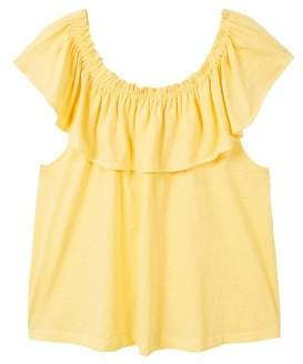 Violeta BY MANGO Organic cotton off-shoulder t-shirt