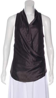 Helmut Lang V-Neck Sleeveless Top