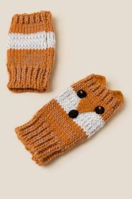 francesca's Demi Fox Gloves - Amber