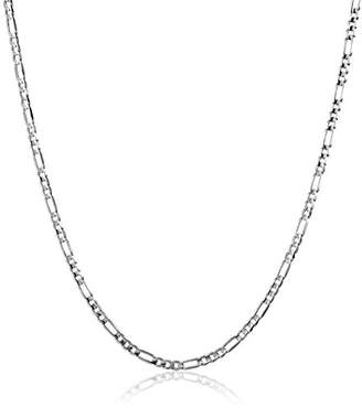 Men's 14k Gold 3.15mm Figaro Chain Necklace