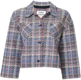 Coohem (コーヘン) - COOHEM tech tweed jacket