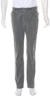 Tom Ford Corduroy Flat Front Pants