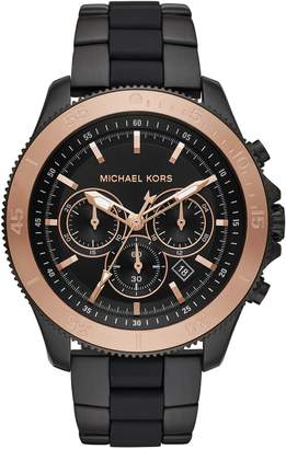 Michael Kors Theroux Silicone Bracelet Watch, 45mm