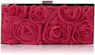 Jessica McClintock Women's Rose Evening clutch Bag