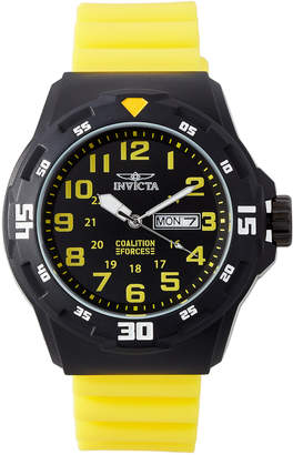Invicta 25328 Yellow & Black Coalition Forces Watch