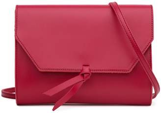 Alexandra de Curtis Lena Crossbody Clutch Red