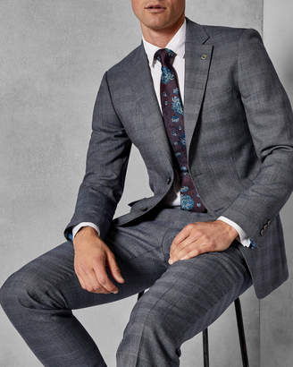 Ted Baker SALOOJ Checked suit jacket