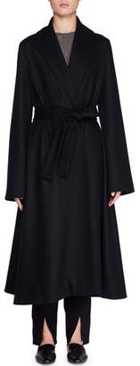 The Row Parlia Belted Wool Wrap Coat