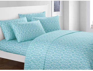 Chic Home Fallen Leaf 6-Pc King Sheet Set Bedding