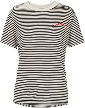 Whistles Tres Bon Embroidered T Shirt