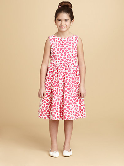 Oscar de la Renta Toddler's & Little Girl's Abstract Print Dress