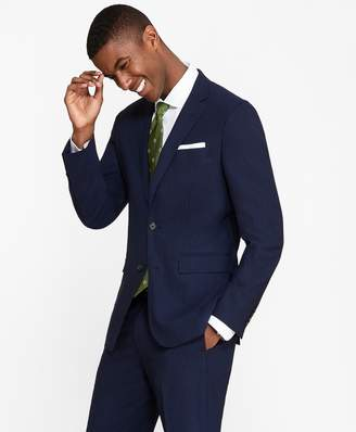 Brooks Brothers Milano Fit BrooksCool Track Stripe Suit