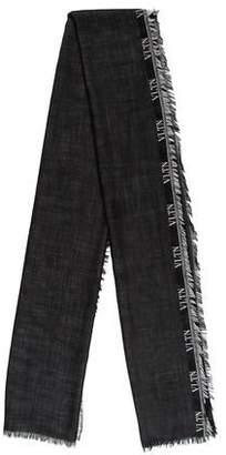 Valentino Wool-Silk Blend Scarf