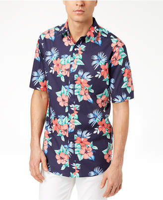Club Room Men's Island Floral-Print Shirt, Created for Macy's