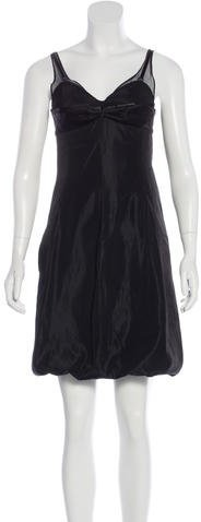 Balenciaga  Balenciaga Sleeveless Bustier Dress