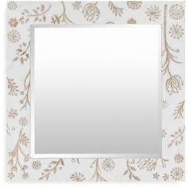 Surya Heradia Transitional Square Mirror