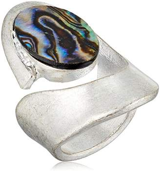 Robert Lee Morris Silver and Cut Out Ring