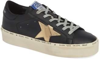 Golden Goose Metallic Star Low-Top Sneaker