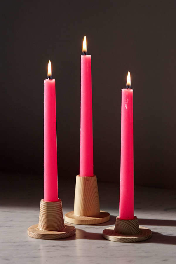 Stacking Taper Candle Holder Set