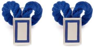 Babette Wasserman Rope Wrap cufflinks