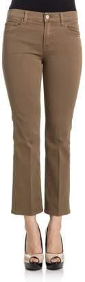 J Brand Selena Distressed Trousers