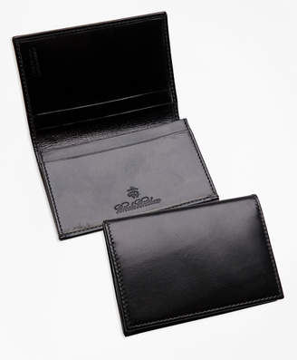Brooks Brothers French Calfskin Business Card Case