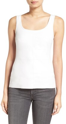 Women's Bailey 44 'Fonda' Faux Leather Front Tank $152 thestylecure.com