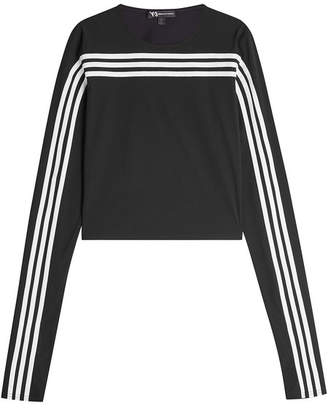 Y-3 Striped Jersey Top