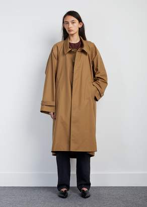 Nehera Cody Cotton Blend Trench Coat Camel