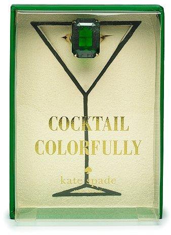 Kate Spade Mint julep cocktail ring