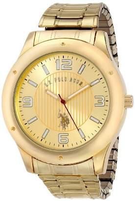 U.S. Polo Assn. Classic Men's USC80014 Oversized Bezel Dial Expansion Watch