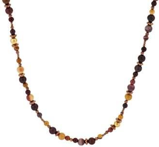 Carolyn Pollack Sterling Gemstone Bead Necklace