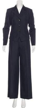 Max Mara Striped Pant Suit