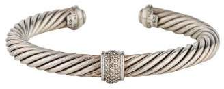 David Yurman Diamond Cable Classics Cuff