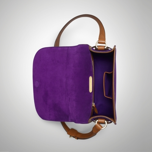 Ralph Lauren Equestrian Flap Shoulder Bag