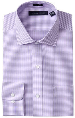 Tommy Hilfiger Gingham Regular Fit Dress Shirt