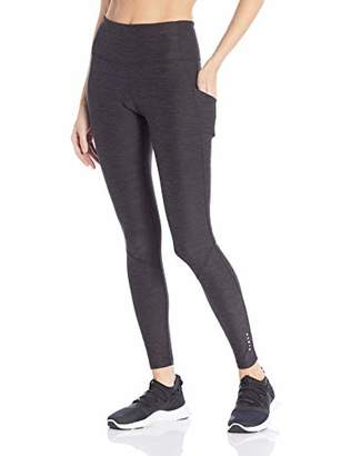 "Core 10 Women's Cozy High Waist Full-Length Legging with Pockets - 28"""