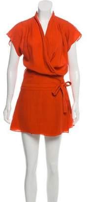Balenciaga Mini Silk Dress