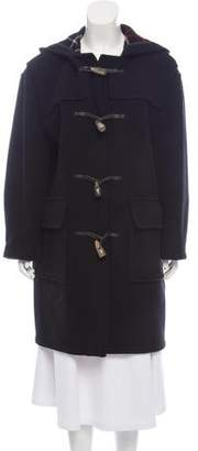 Burberry Wool-Blend Toggle Coat