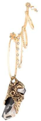 Alexander McQueen Faux Pearl & Stone Ear Cuff